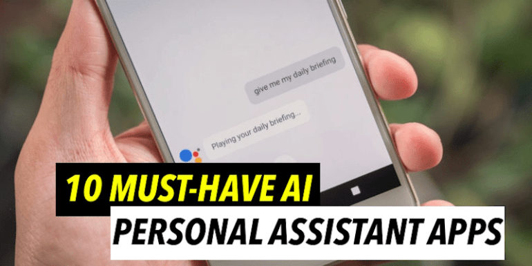 personal assistant apps for android