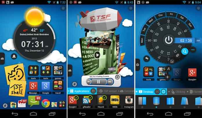 TSF launcher for android