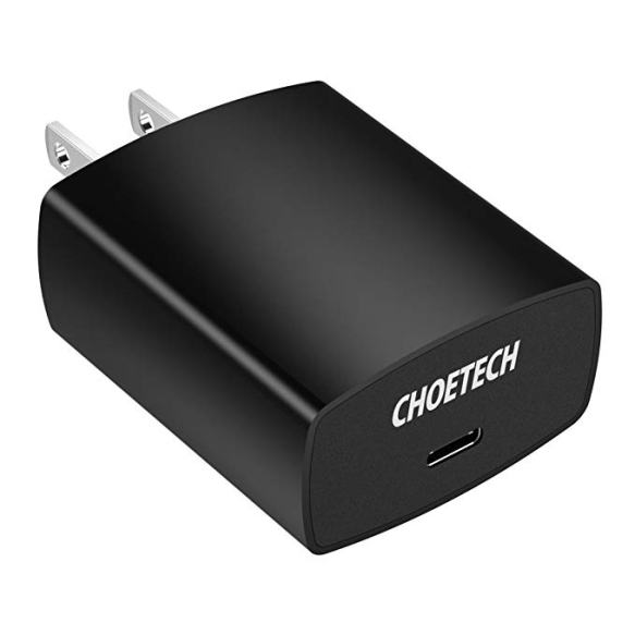 choetech 18w fast charger