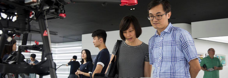 DJI Market Share Hong Kong drone couple