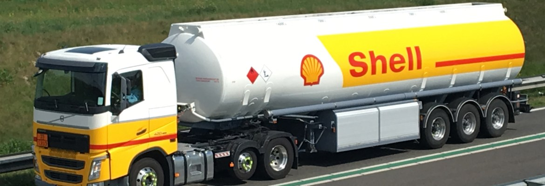 Shell Oil Company truck