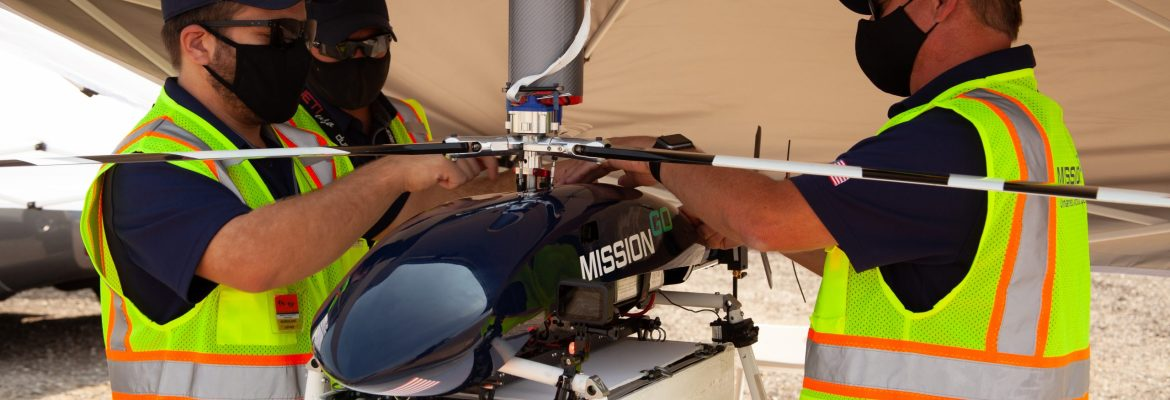 MissionGo Kidney drone delivery