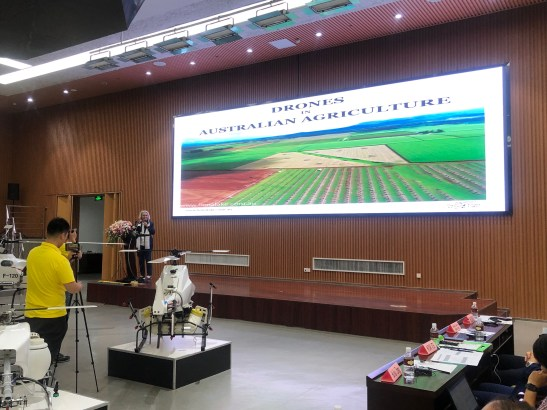 Fiona Lake drone conference talk australian agriculture