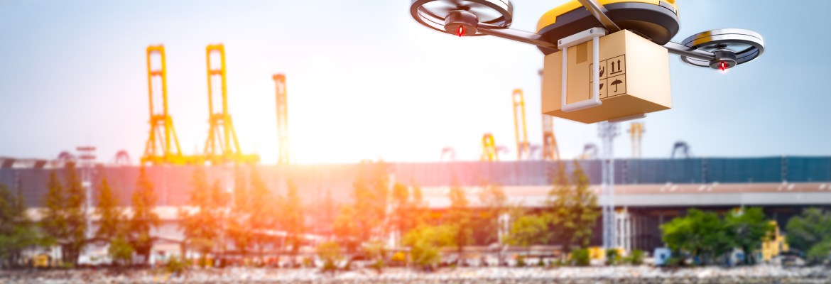 contactless drone delivery