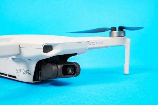 DJI Mavic Mini drone 249 grams 250