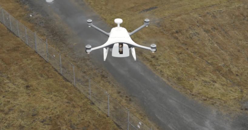 Verizon 5G UPS drone delivery CES 2021