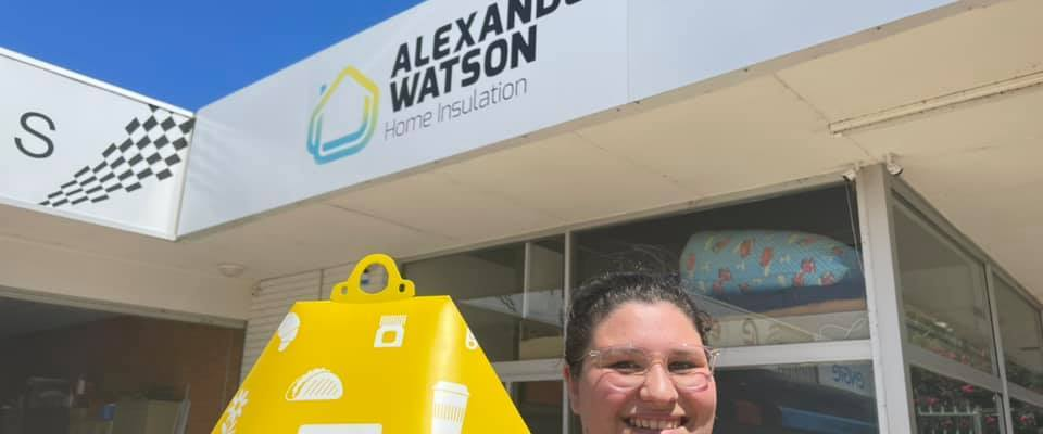 Wing Alexander Watson drone delivery home installation Australian office park