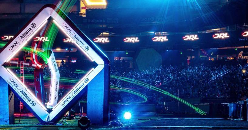 DRL drone racing league new DJI FPV drone racing