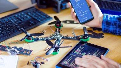 program drone using Python