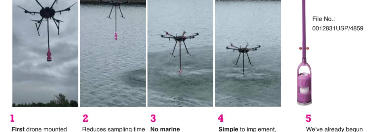 Nixie drone water sample
