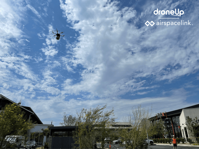 Ontario DroneUp Airspace Link smart city drone delivery