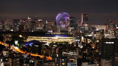 Tokyo Olympics drone display
