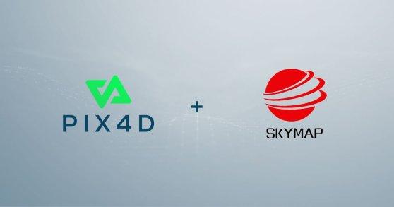 Beijing Skymap Pix4D partnership