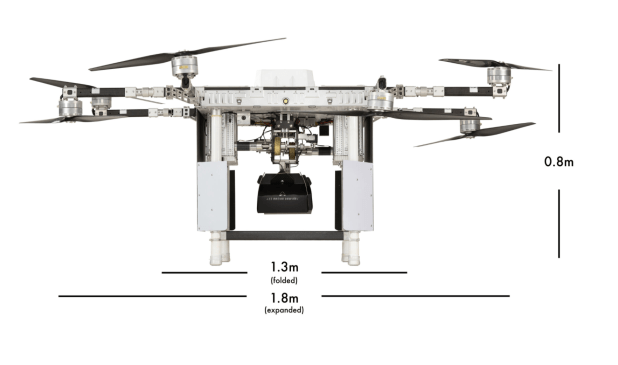 RDSX delivery drone