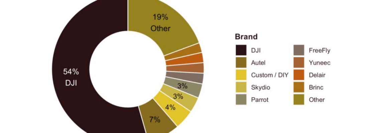 2021 DJI market share