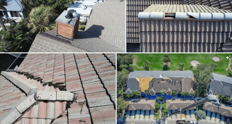 drones for roof inspections Florida Professional Drone Solutions