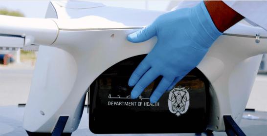 Matternet Abu Dhabi medical drone delivery