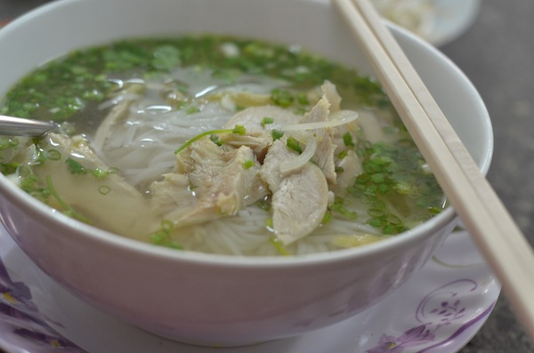 Pho Binh's chicken pho ... delicious!