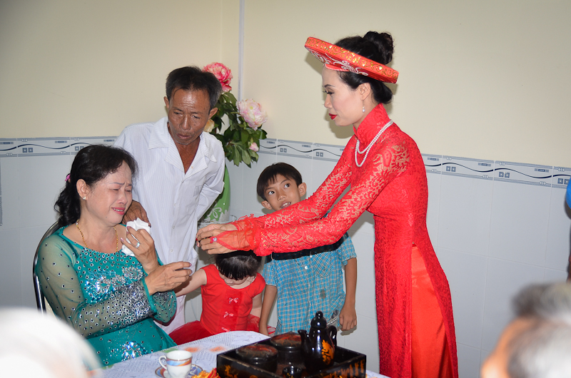 Ms Thu's family ceremony