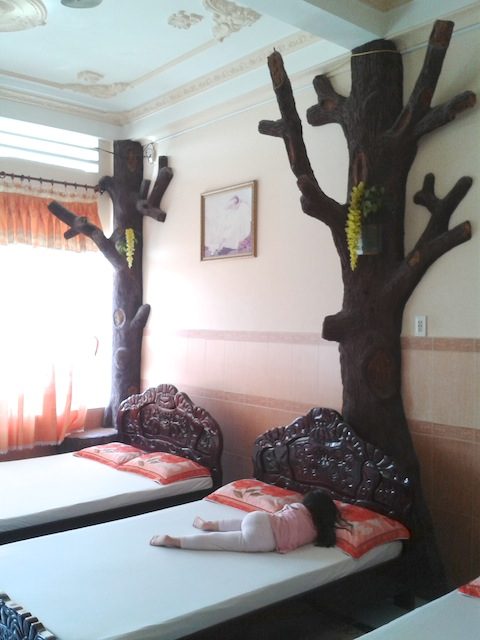 An unusual family room in Quy Nhon