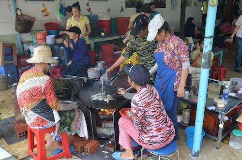 Banh khot in Vung Tau