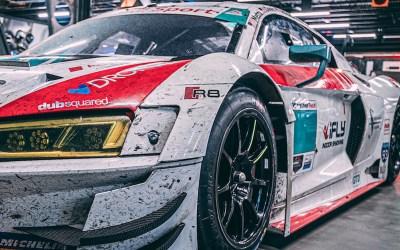 NTE Sport Races No. 42 Audi R8 GT3 in IMSA Rolex 24H