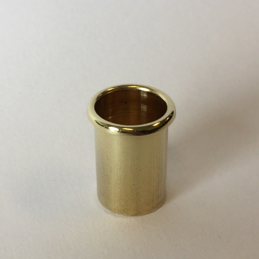 """Air Vent - Vintage Style Polished Brass - 7/16"""" Diameter"""