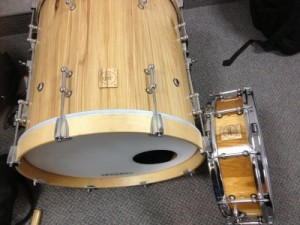 """003 - 4.5"""" x 14"""" Hickory Stave Snare"""