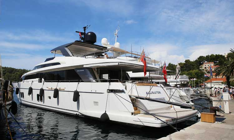Nautical Friendly Cavtat Hosts Eight Mega Yachts This