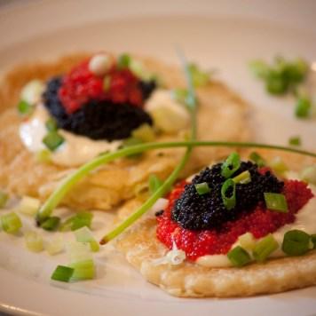 Caviar Blinis