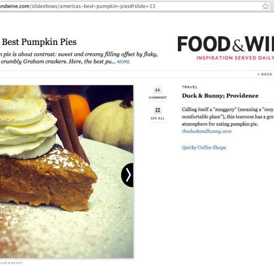 America's Best Pumpkin Pies