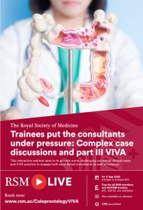Trainees put the consultants under pressure: Complex case discussions and part III VIVA
