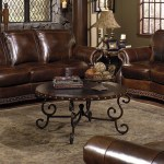 Rocky Mountain Leather Cowboy Brown 2 Piece Living Set The Dump Luxe Furniture Outlet