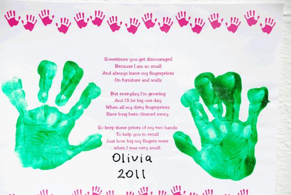Olivia's Hands
