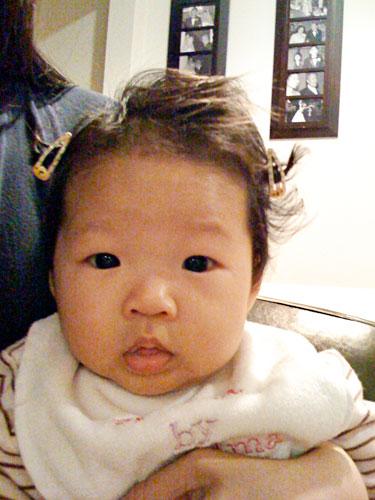 Olivia is 4 photo