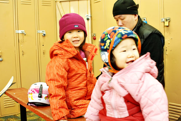 Ski School Special Visitor