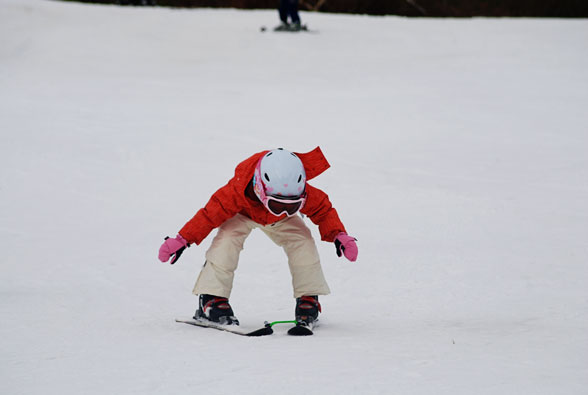 First Day of Ski School