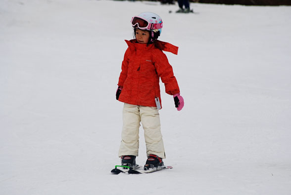 First Day of Ski School