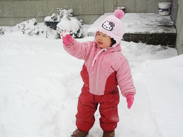 First Snowman