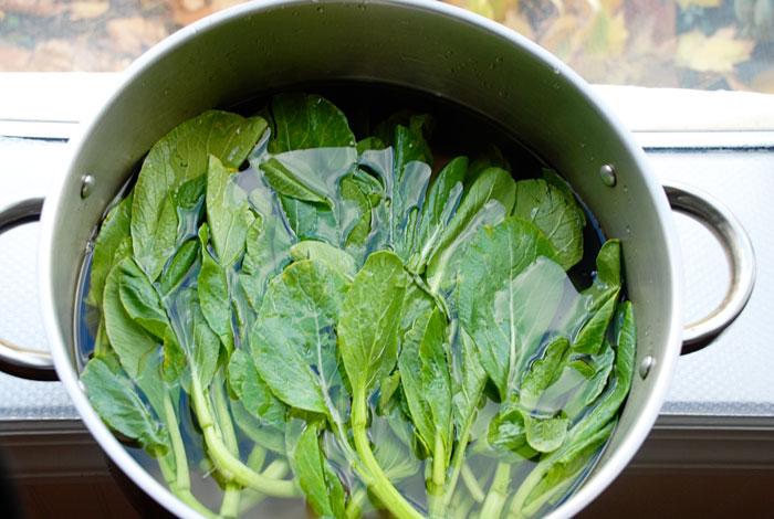 Clean Leafy Greens