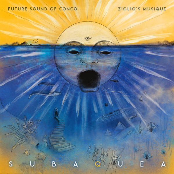 Subaquea EP - Future Sound Of Conco & Ziglio's Musique - Illustration by Anguanatatu