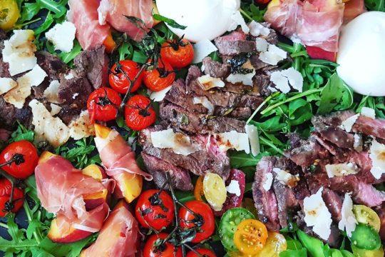 Italian steak tagliata sharing platter