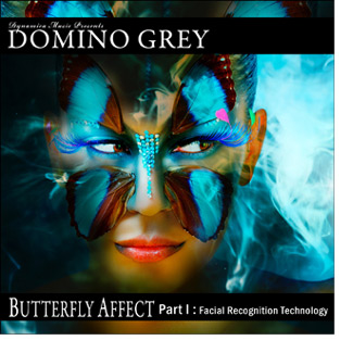 Domino Grey Butterfly Affect Album Cover