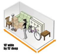 10' X 15' Large Bedroom 150 sq ft Upper Level