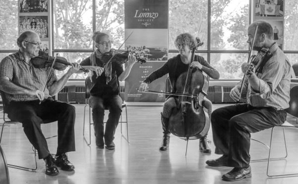 The Saint John String Quartet Celebrate Maritime Composers