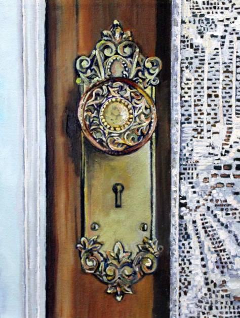 'Doorknob and Lace' (Courtesy of Lynn Wigginton)
