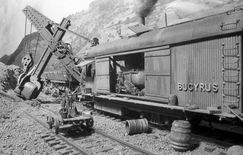 Bucyrus Steam Shovel (Courtesy of Bob Boudreau)
