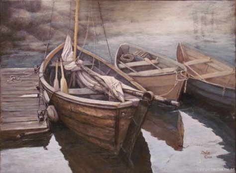 Maritime Dories (Courtesy of Dale Cook)