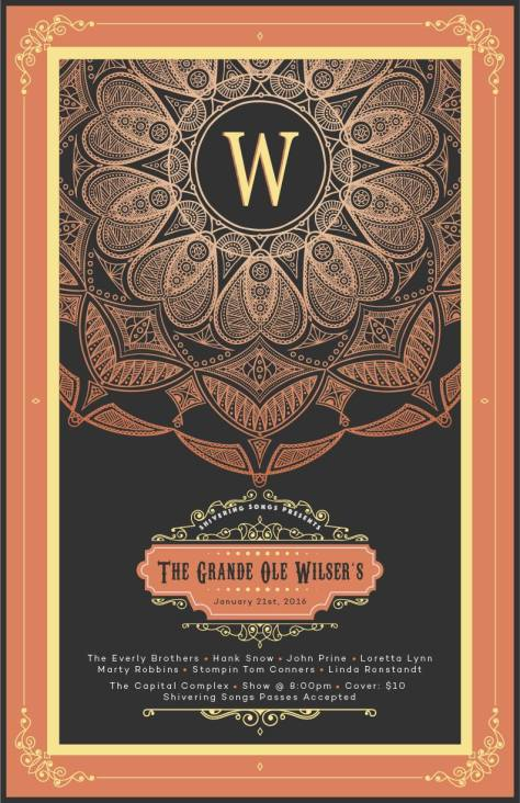 Grand Ol' Wilser's (Poster by Michael Sinclaire)