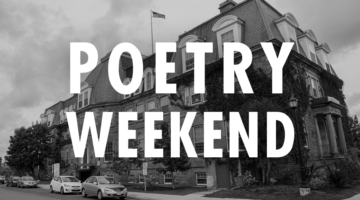 Poetry Weekend: Fredericton's Low-Key, But-Seriously-Why-Haven't-You-Heard-About-This Poetry Festival